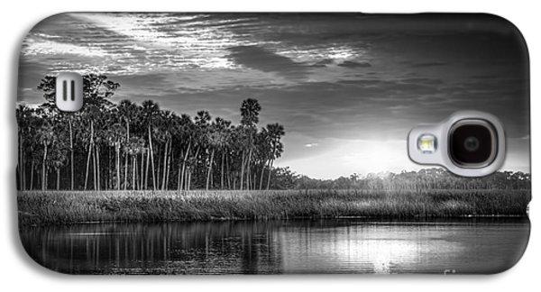 Bayou Sunset-b/w Galaxy S4 Case