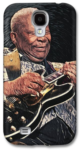 B.b. King II Galaxy S4 Case by Taylan Apukovska