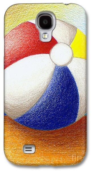 Beach Ball Galaxy S4 Case by Stephanie Troxell