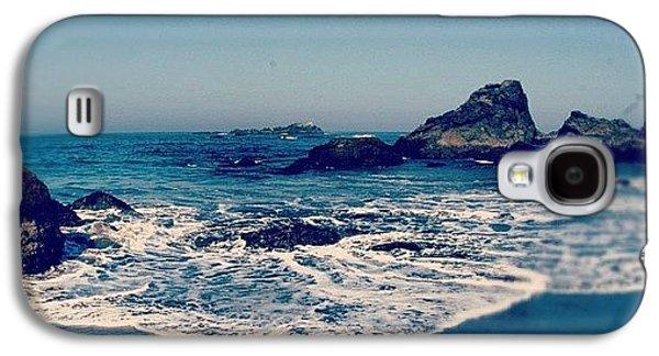 Sunny Galaxy S4 Case - #beach #beautiful #water #waves #nature by Jill Battaglia