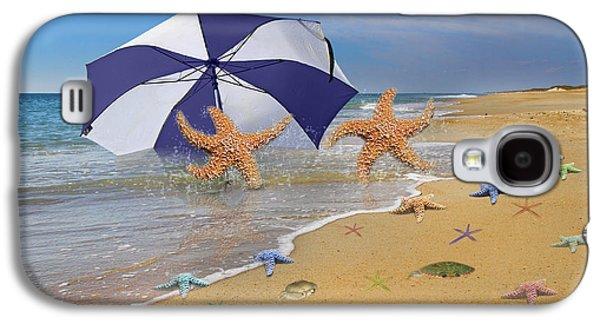 Beach Bums Galaxy S4 Case by Betsy Knapp