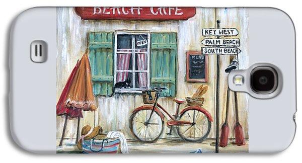 Beach Cafe Galaxy S4 Case by Marilyn Dunlap