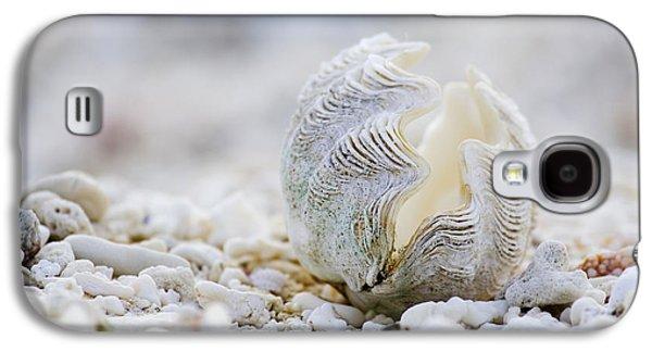 Beach Galaxy S4 Case - Beach Clam by Sean Davey