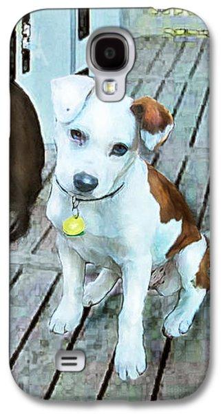 Beach Dog 1 Galaxy S4 Case