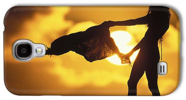 Beach Girl Galaxy S4 Case by Sean Davey