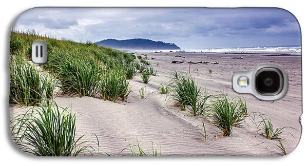 Beach Grass Galaxy S4 Case by Robert Bales