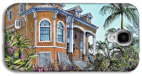 Magnolia Beach House Galaxy S4 Case