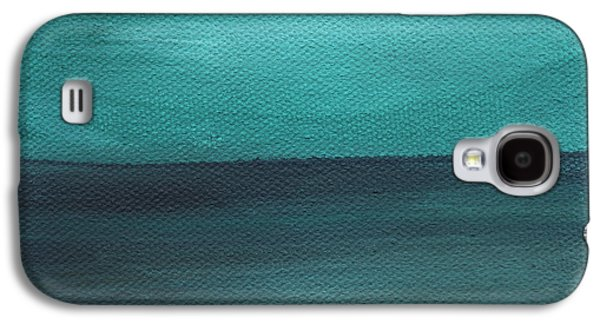 Beach Morning- Abstract Landscape Galaxy S4 Case by Linda Woods