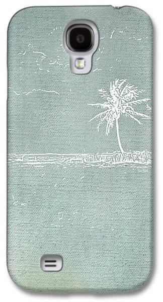 Beach Palm I Galaxy S4 Case