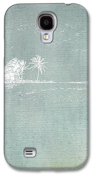 Beach Palm II Galaxy S4 Case