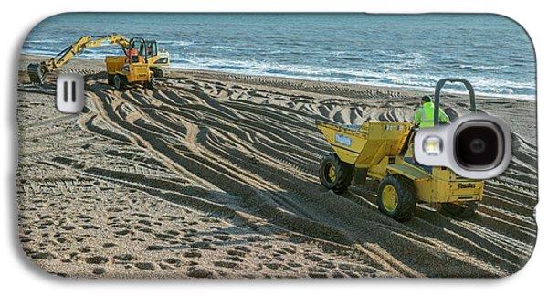 Beach Repair Galaxy S4 Case by Robert Brook