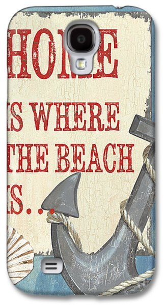 Beach Time 2 Galaxy S4 Case by Debbie DeWitt