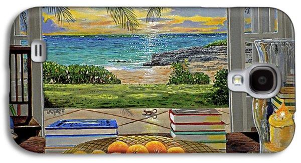 Beach View Galaxy S4 Case by Carey Chen