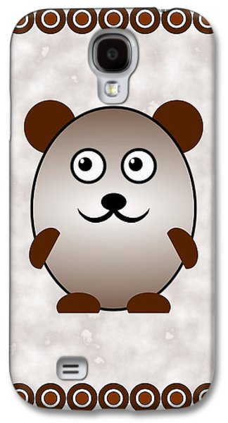 Bear - Animals - Art For Kids Galaxy S4 Case by Anastasiya Malakhova