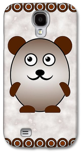 Bear - Animals - Art For Kids Galaxy S4 Case