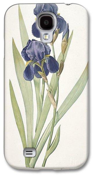 Bearded Iris Galaxy S4 Case by Pierre Joseph Redoute