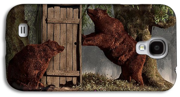 Bears Around The Outhouse Galaxy S4 Case