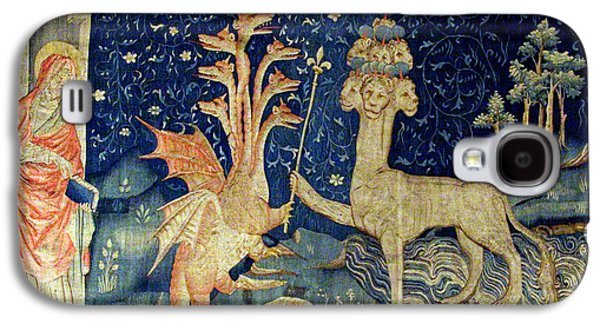 Beasts Of The Apocalypse Tapestry Galaxy S4 Case by Photo Researchers