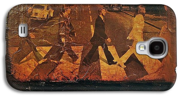Beatles Revisited Galaxy S4 Case by Roland Byrne