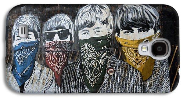 Beatles Street Mural Galaxy S4 Case