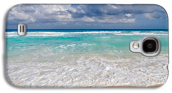 Beautiful Beach Ocean In Cancun Mexico Galaxy S4 Case