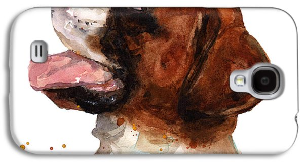 Beautiful Boxer Galaxy S4 Case by Alison Fennell