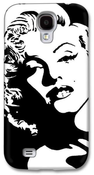 Beautiful Marilyn Monroe Original Acrylic Painting Galaxy S4 Case