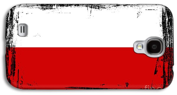 Beautiful Poland Flag Galaxy S4 Case
