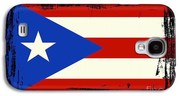 Beautiful Puerto Rico Flag Galaxy S4 Case by Pamela Johnson