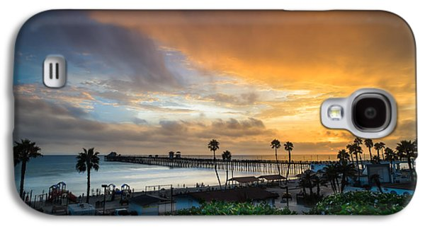 Beautiful Southern California Sunset Galaxy S4 Case by Larry Marshall