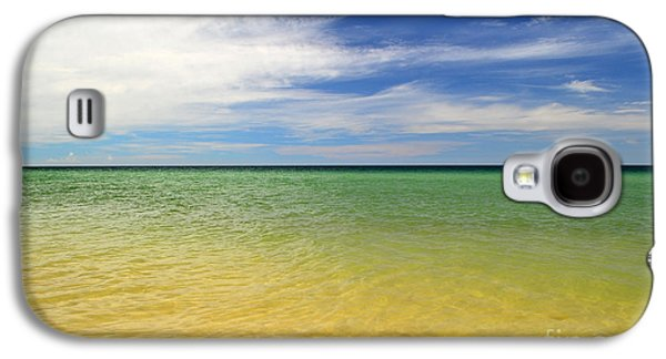 Beautiful St George Island Water Galaxy S4 Case by Holden Parker