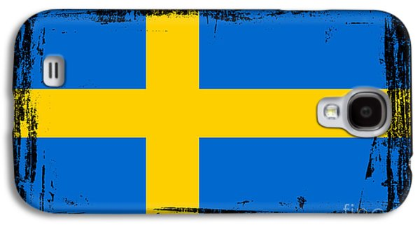 Beautiful Sweden Flag Galaxy S4 Case