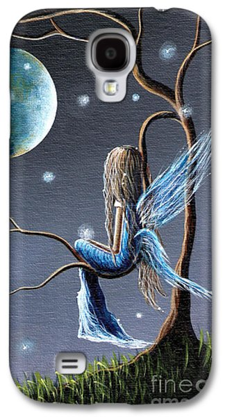 Fairy Art Print - Original Artwork Galaxy S4 Case by Shawna Erback