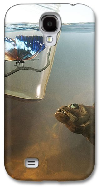 Beauty And The Beast Galaxy S4 Case by Cynthia Decker