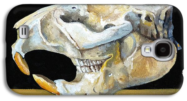 Beaver Skull 1 Galaxy S4 Case