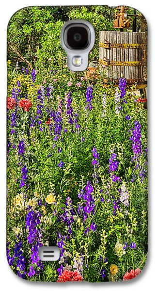 Becker Vineyards' Flower Garden Galaxy S4 Case by Priscilla Burgers