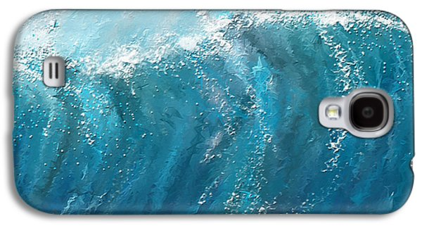 Beckoning Heights- Surfing Art Galaxy S4 Case