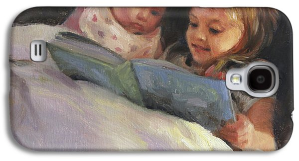 Bedtime Bible Stories Galaxy S4 Case by Anna Rose Bain