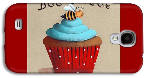 Bee Sweet Cupcake Galaxy S4 Case by Catherine Holman