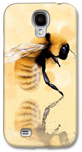 Bee Galaxy S4 Case by Veronica Minozzi