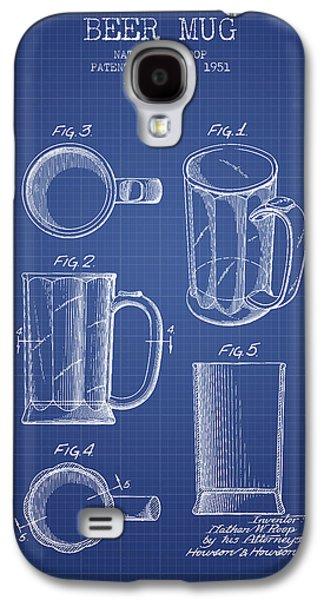 Beer Mug Patent 1951 - Blueprint Galaxy S4 Case