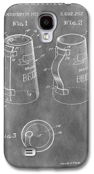 Beer Mug Patent Galaxy S4 Case