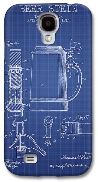 Beer Stein Patent 1914 - Blueprint Galaxy S4 Case