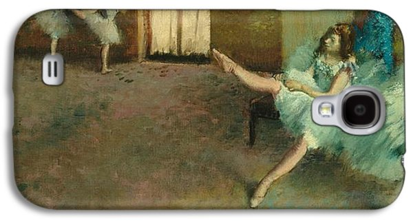 Before The Ballet Galaxy S4 Case by Edgar Degas