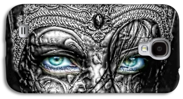 Behind Blue Eyes Galaxy S4 Case by Mo T