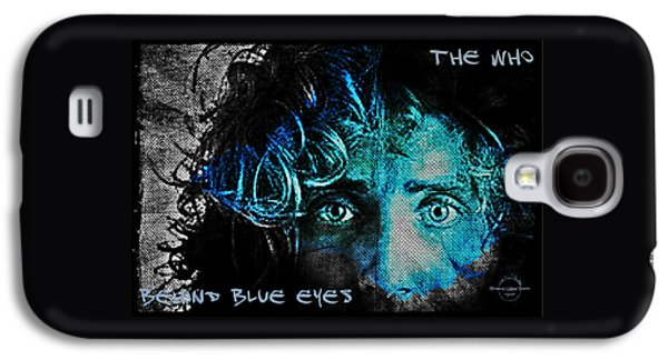 Behind Blue Eyes - The Who Galaxy S4 Case by Absinthe Art By Michelle LeAnn Scott