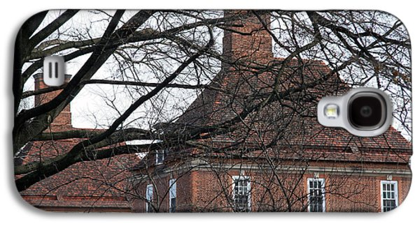 The British Ambassador's Residence Behind Trees Galaxy S4 Case by Cora Wandel