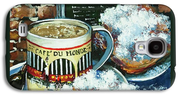 Beignets And Cafe Au Lait Galaxy S4 Case by Dianne Parks