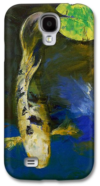 Bekko Butterfly Koi Galaxy S4 Case by Michael Creese