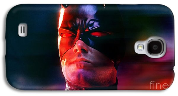Ben Affleck Daredevil Galaxy S4 Case by Marvin Blaine